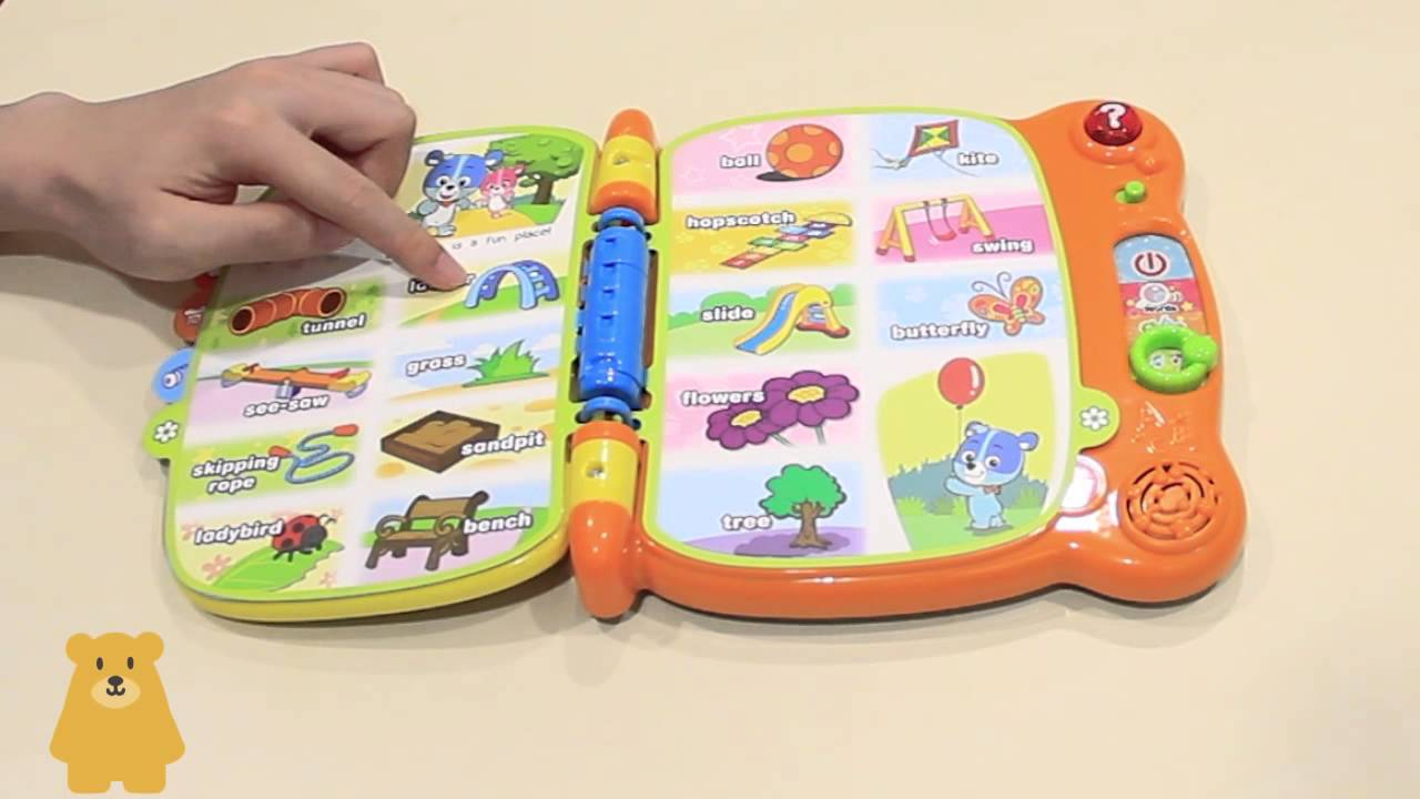 unboxing full version vtech baby my 1st word book 電子英文學習書