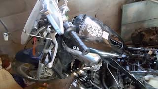 замена двигателя yamaha fxz 750 на полносильный коммутатор
