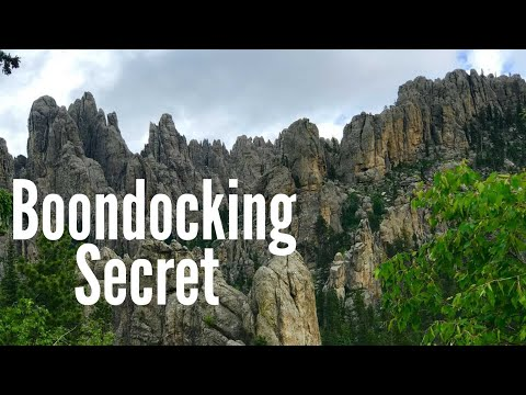 FREE Camping In The Black Hills SD | EPIC Boondocking [Full Time RV Living]