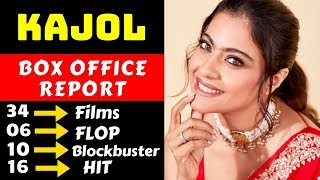 Kajol Hit And Flop All Movies List With Box Office Collection Analysis
