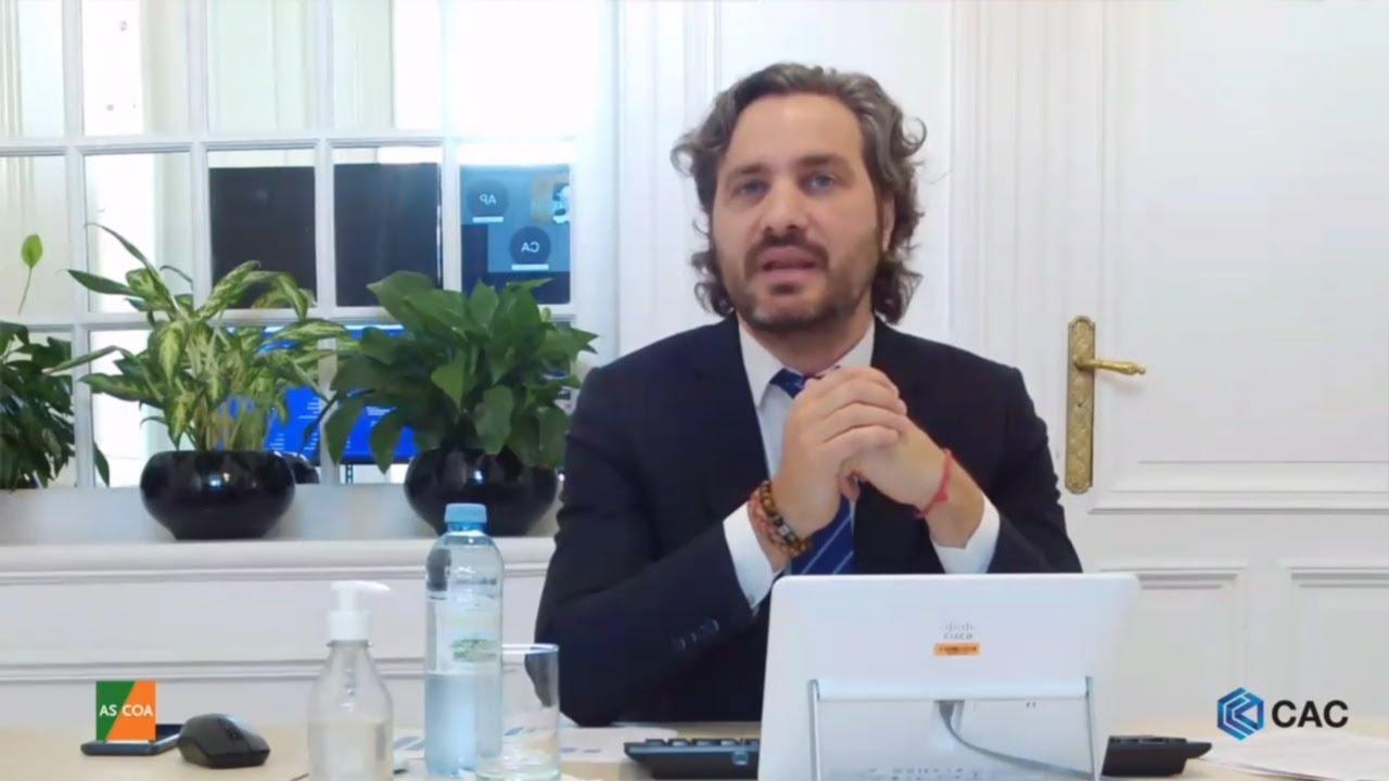 """Cafiero: """"Argentina empieza a repuntar en tiempo récord"""""""