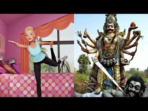 Barbie's Yoga Challenge: Demon Worship For Kids