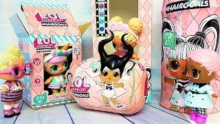 КУКЛЫ ЛОЛ СЮРПРИЗ МУЛЬТИКИ! СЕМЕЙКА ЛОЛ ДЛЯ МАЛЕФИСЕНТЫ #lolsurprise #doll
