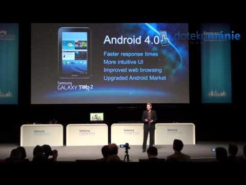 Samsung Galaxy Tab 2 (7.0) - Samsung Forum 2012 Prague