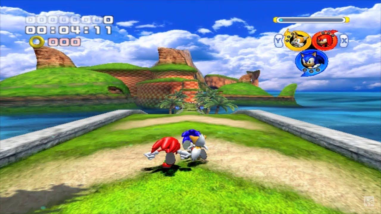 Sonic Heroes - GameCube Gameplay (720p60fps) - YouTube