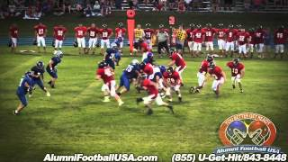 7-12-14 Perry-Lecompton vs Santa Fe Trail (Highlights) Alumni Football USA