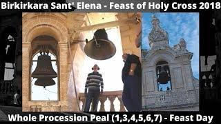 Purċissjoni (2018 - 1,3,4,5,6,7) - Birkirkara Sant' Elena - Festa ta' Santu Kruċ - 4/6 Qniepen / 8