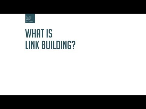 What is Link Building?