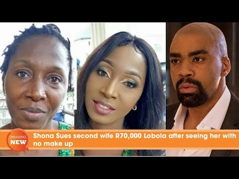 Shona Ferguson Sues second wife R70000 Lobola after seeing her with no make up