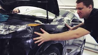 Lexus RX 350. Защитная пленка на переднюю часть автомобиля. Тонировка.(Lexus RX. Оклейка кузова антигравийной пленкой SunTek, тонирование стекол. Оклейка кузова защитной пленкой позво..., 2017-01-23T15:56:02.000Z)