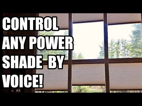 Automate INEXPENSIVE Blinds.com window coverings with Alexa or your phone from ANYWHERE!