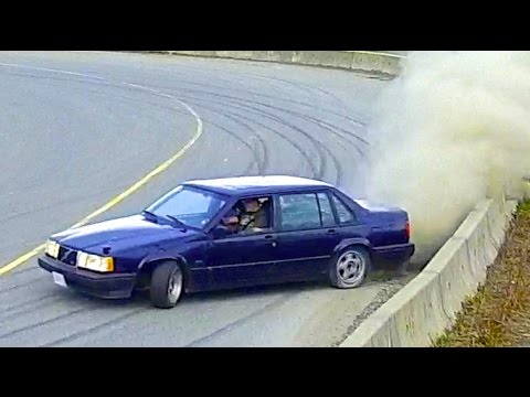Daily Driven Volvo 940 Turbo Drift Car The Swed Sled Volvo