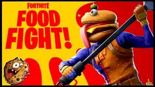 BURGERS FOR DA BOIIISSS!! || FORTNITE: FOOD FIGHT LTM [w/ SUBS] || INTERACTIVE STREAMER || PS4