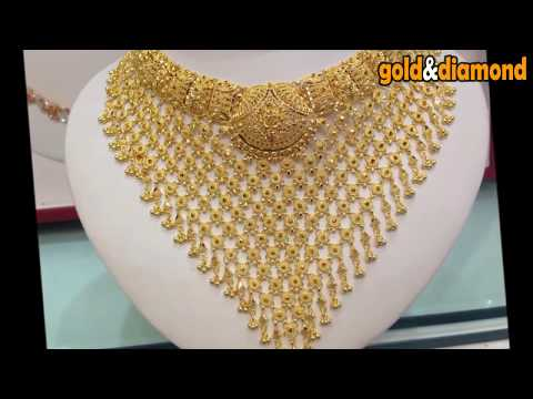 Top 20 Bombay Gold Necklace in Mesh Model Collection-gold&diamond