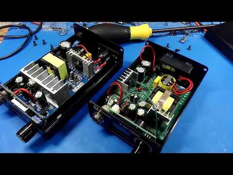 Паяльные станции T12 LED VS OLED. Обе на STC.