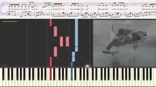 Я люблю тебя больше природы - Дубцова Ирина (Ноты и Видеоурок для фортепиано) (piano cover)