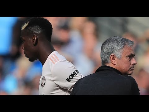 Jose Mourinho takes swipe at Paul Pogba in first interview since Man Utd sacking