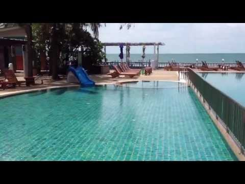โรงแรมชมวิว หัวหิน มีสระว่ายน้ำติดทะเล สวยเวอร์ร์ร์ โทร