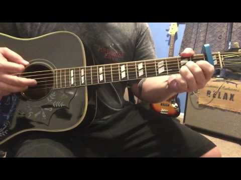 Let Your Love Flow - The Bellamy Brothers - Acoustic guitar