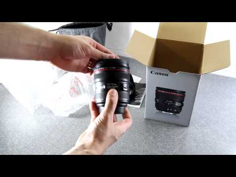 Canon EF 24-70mm f/4 L IS USM Unboxing & Test