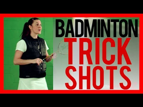 BADMINTON TRICK SHOTS - How to do Anna Rice's Signature Trick Shot | Better Badminton