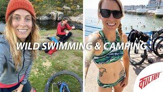 Wild camping, wild swiṁming | Dartmoor bikepacking