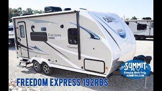 2019 Coachmen Freedom Express 192RBS Travel Trailer at Summit RV in Ashland, KY