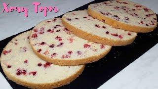 Попробуйте этот ЗАВАРНОЙ БИСКВИТ Очень ВКУСНЫЙ бисквит для Торта Рецепт бисквита Хочу ТОРТ