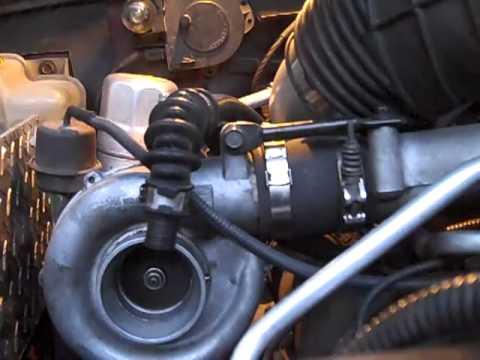 Borg Warner turbo 6.5 Diesel - YouTube