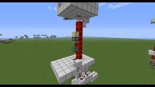 Tutorial - Notch's Magic Elevator Minecraft PC 1.8.