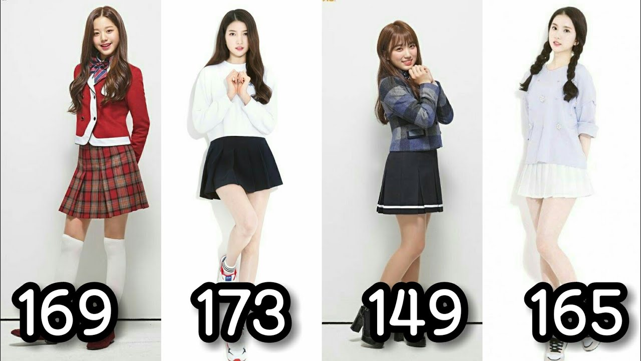 Tallest Shortest Member In Kpop Girl Group 2014 2019 Youtube