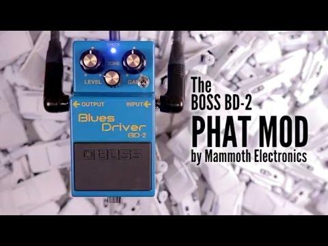 Mammoth Electronics - Boss Blues Driver Phat Mod