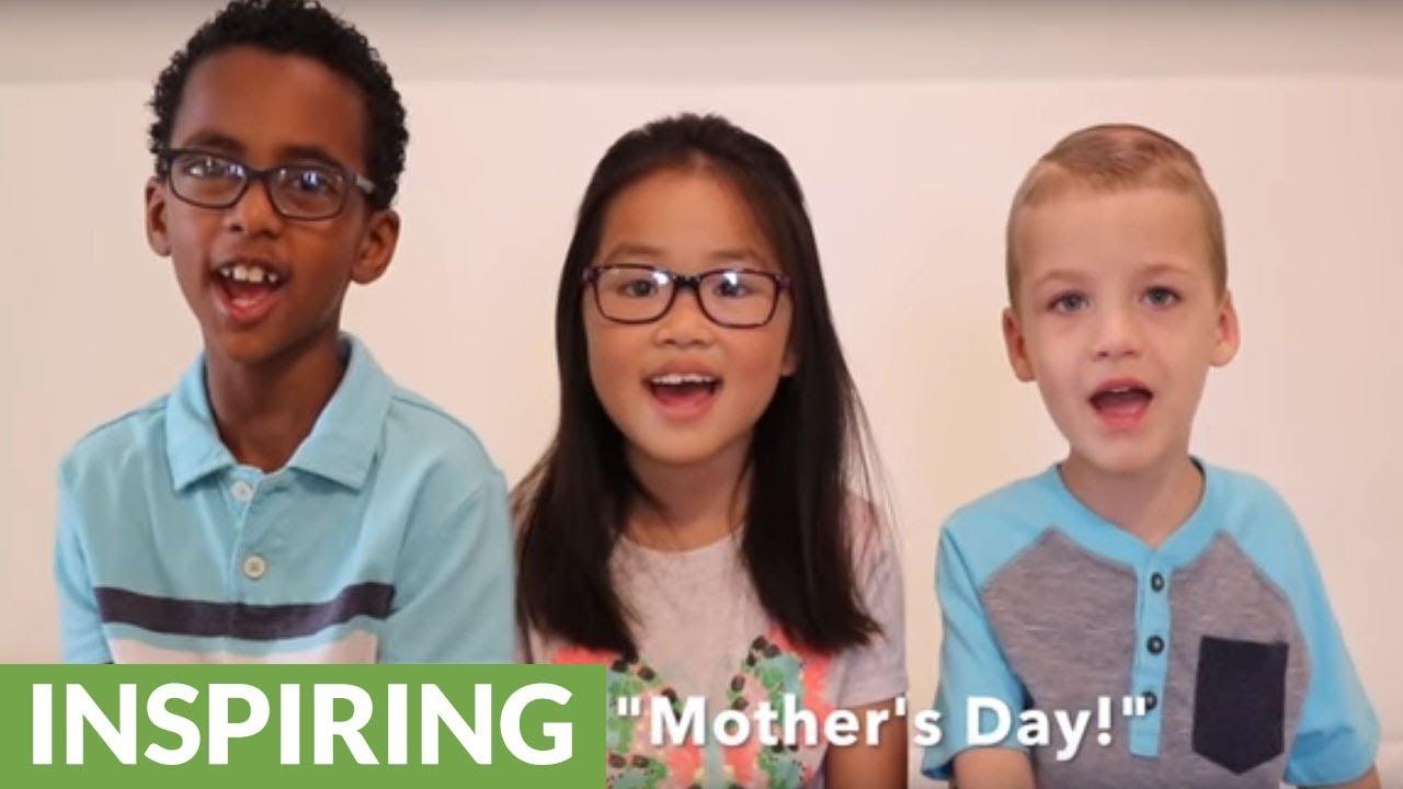 Little kids deliver heartwarming Mother's Day message