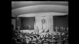 First Live Worldwide Television Broadcast via Telstar Satalite