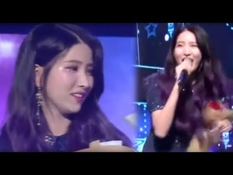 [Encore] Gfriend Sowon singing Yuju's high note @Time for the moon night 여자찬구 소원 유주 밤 180521