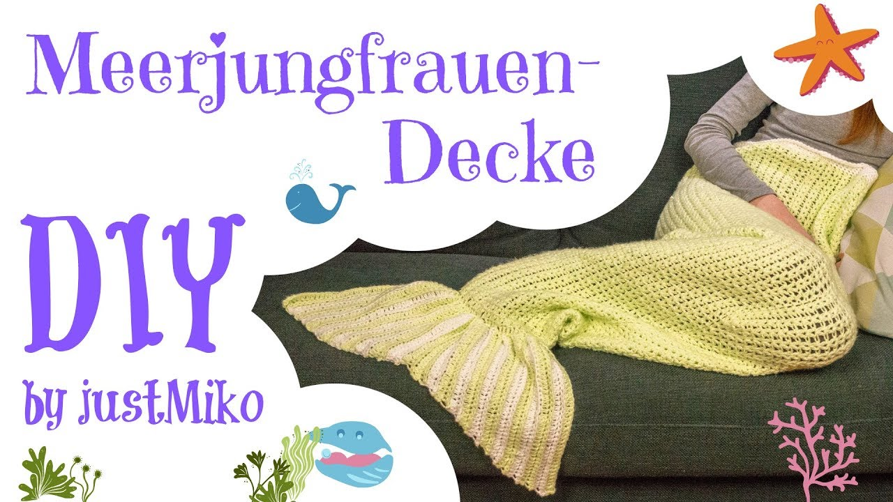 Meerjungfrau Decke Häkeln Do It Yourself Verlosung
