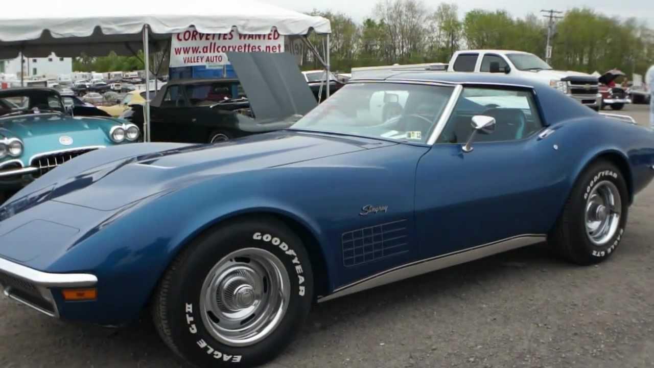 1970 Corvette Coupe For Sale Bridgehampton Blue 979