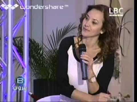Nadia Badran B Beirut LBCI Social Engagement