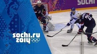 Ice Hockey - USA 0 - 5 Finland - Men