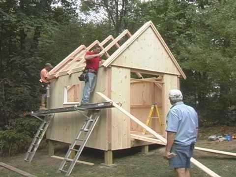 Post and beam garden shed plans how to build a shed for Post beam barn plans