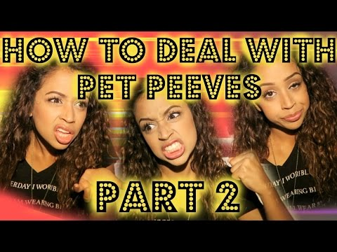 PART 2: HOW TO DEAL WITH PET PEEVES | Lizzza