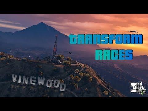 MORE TRANSFORMER RACING!! GRAND THEFT AUTO 5!