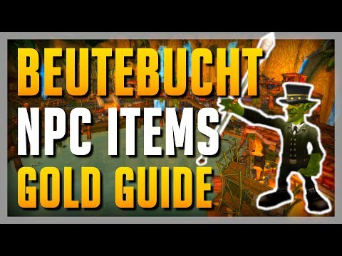 EINFACH Gold machen mit Händler NPC Items? Ab nach BEUTEBUCHT ► WoW Anfänger Guide BfA 8.0.1 Deutsch