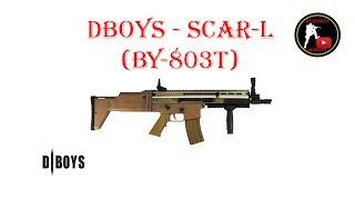 Реплика автомата SCAR L (скар л) от Китайской компании DBOYS Стань ...