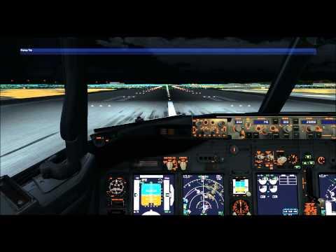 Korean air 1411 Incheon to Daegu on vatsim,domestic flight,pmdg 737ngx with fs2crew,fsx