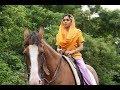 Shubhangi atre saumya tandon horse riding | bhabi ji ghar par hai | indian actress horse riding