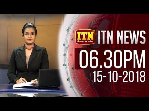ITN News 2018-10-15 | 06.30 PM