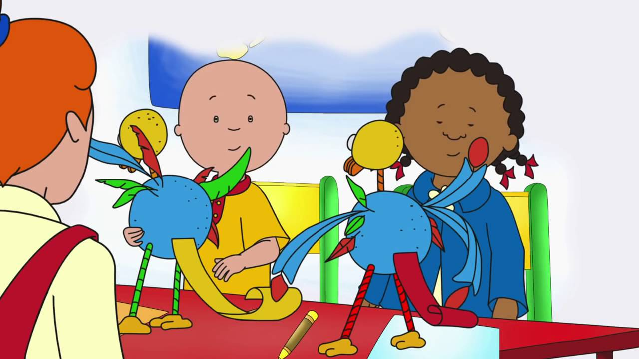Caillou Copycat Clementine - YouTube