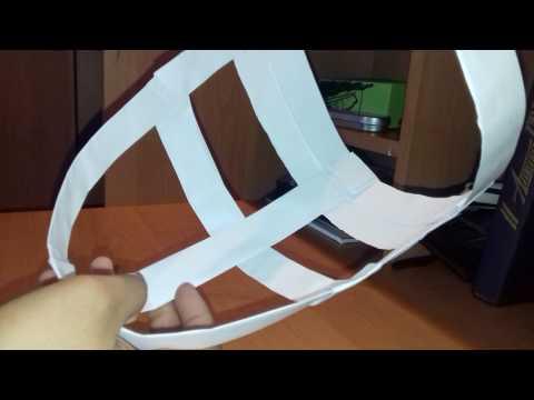 Как из бумаги сделать маску зайца из бумаги своими руками