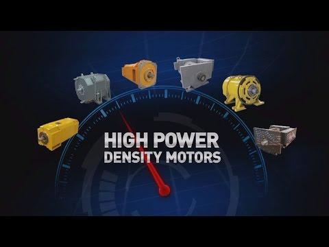 High Power Density AC Drilling Motors from Ward Leonard